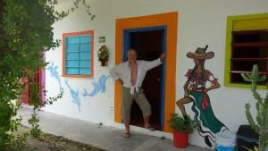 Mexico, Cancun: Unser Hostel El Pueblito war mit einfachen Zimmer und recht ordentlichem Frühstück ideal für eine Nacht