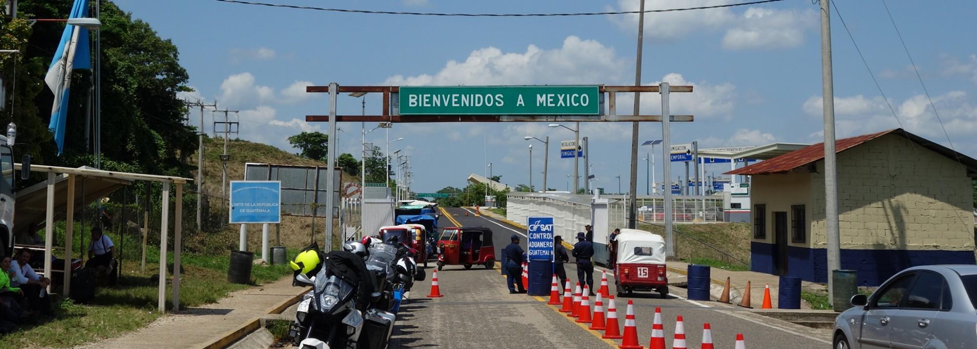 Puerto Fronterizo El Ceibo, Tenosique: Der beste Weg von Flores nach Palenque und San Cristobal