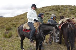 Horseback Riding im Cotopaxi Nationalpark