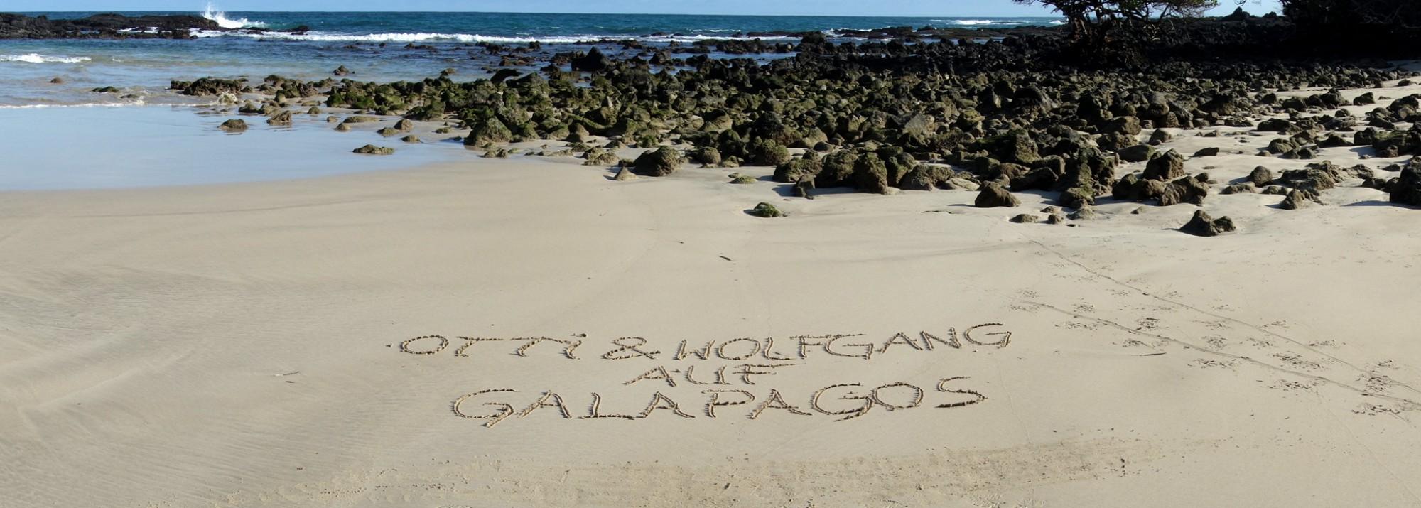 Otti & Wolfgang auf Galapagos - Ein Traum geht in Erfüllung