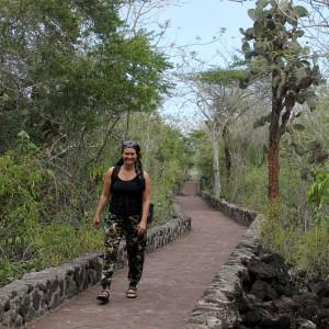 Galapagos, Santa Cruz, Wanderung zur Tortuga Bay