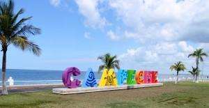 Campeche: Kunst ist überall zu finden, auch hier am Malecon