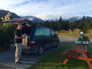 Neuseeland: Kurti, unser Camper Van